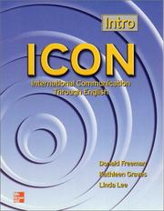 Cover of: ICON | Donald Freeman, Kathleen Graves, Linda Lee