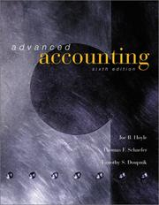 Cover of: Advanced Accounting with Update