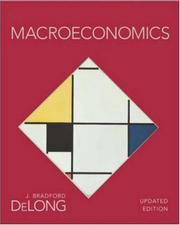 Cover of: Macroeconomics Updated Edition+ Updated Study Guide | Bradford Delong