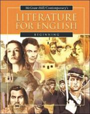 Cover of: Literature for English | Burton Goodman