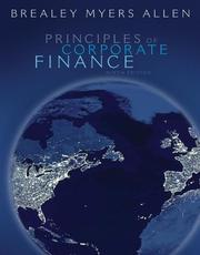 Cover of: Principles of Corporate Finance with S&P bind-in card
