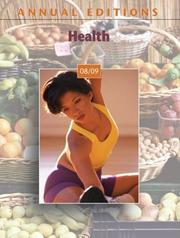 Annual Editions: Health 08/09 (Annual Editions : Health)