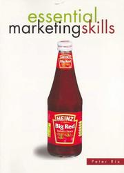 Cover of: Essential Marketing Skills by Peter Rix