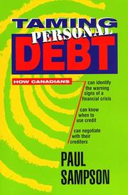 Cover of: Taming Personal Debt | Paul Sampson