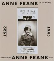 Cover of: Anne Frank in the World