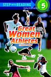 Cover of: Great Women Athletes (Step-Into-Reading, Step 5) | Darice Bailer