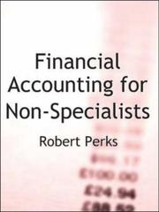 Cover of: Financial Accounting for Non-specialists