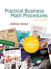 Cover of: PRACTICAL BUS MATH PROCEDURES With Student DVD, WSJinsert,BMathHandbook