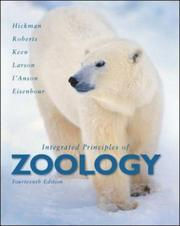 Cover of: Integrated Principles of Zoology | Cleveland P. Hickman, Jr.