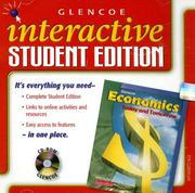 Cover of: Economics Today and Tomorrow, Interactive Student Edition | McGraw-Hill