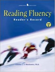 Cover of: Reading Fluency | Camille L.Z. Blachowicz