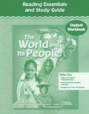 Cover of: The World and Its People, Reading Essentials and Study Guide, Workbook | McGraw-Hill