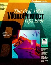 Cover of: The Best 1001 Wordperfect Tips Ever