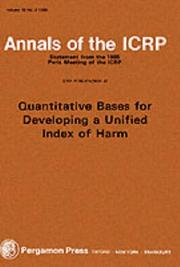 Cover of: ICRP Publication 45 | ICRP