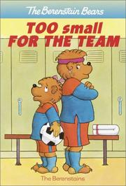 Cover of: Too Small for the Team (A Stepping Stone Book(TM))