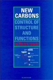 Cover of: New Carbons - Control of Structure and Functions | M. Inagaki