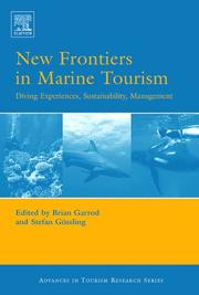 Cover of: New Frontiers in Marine Tourism |