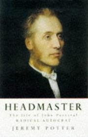 Cover of: Headmaster
