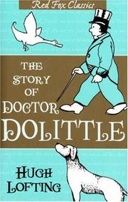 Cover of: The Story of Doctor Dolittle (Red Fox Classics)