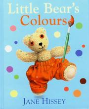 Cover of: Little Bear's Colours (Old Bear)