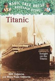 Cover of: Titanic: A nonfiction companion to Tonight on the Titanic