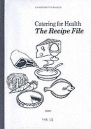 Cover of: Catering for Health | Dept.of Health & Social Security