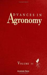 Cover of: Advances in Agronomy, Volume 55 (Advances in Agronomy) | Donald L. Sparks