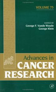 Cover of: Advances in Cancer Research, Volume 75 (Advances in Cancer Research) |