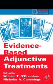 Cover of: Evidence-based adjunctive treatments |