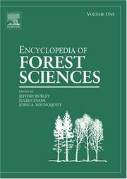 Cover of: Encyclopedia of Forest Sciences, Four-Volume Set, Volume 1-4 |