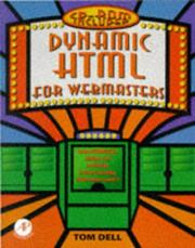 Cover of: Dynamic Html for Webmasters