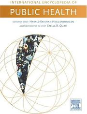 Cover of: International Encyclopedia of Public Health, Six-Volume Set, Volume 1-6