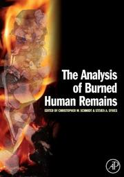 Cover of: The Analysis of Burned Human Remains |