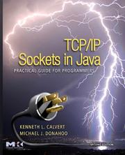 Cover of: TCP/IP Sockets in Java, Second Edition | Kenneth L. Calvert