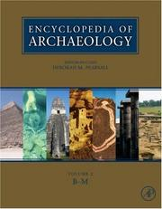 Cover of: Encyclopedia of Archaeology, Three-Volume Set, Volume 1-3
