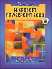 Cover of: Exploring Microsoft PowerPoint 2000 |