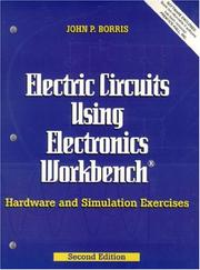 Cover of: Electric circuits using Electronics workbench