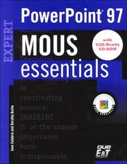 Cover of: MOUS Essentials PowerPoint 97 Expert, Y2K Ready | Jane Calabria