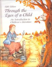 Cover of: Through the Eyes of a Child: An Introduction to Children's Literature
