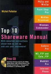 Cover of: Top 10 Shareware Manual | Martin.