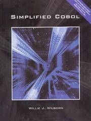 Cover of: Simplified COBOL | Willie J. Wilborn