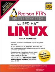 Cover of: The Red Hat Linux Interactive Training Course