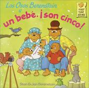Cover of: Los Osos Berenstain y un bebe, !son cinco! (First Time Books(R))