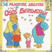 Cover of: Pajaritos Abejitas Y Los Osos Berenstain (First Time Books(R))