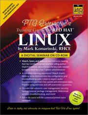 Cover of: PTG Interactive's Training Course for Red Hat Linux