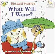 Cover of: What Will I Wear? (Baby Fingers)