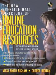 Cover of: The New Prentice Hall Directory of Online Education Resources | Vicky Smith Bigham