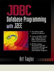 Cover of: JDBC | Art Taylor