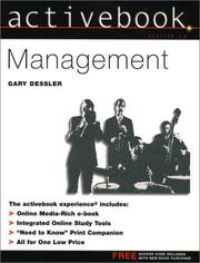 Cover of: Activebook, Management