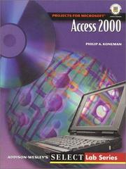 Cover of: Microsoft Access 2000 | Philip A. Koneman